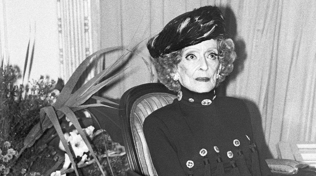 Bette Davis en el hotel María Cristina