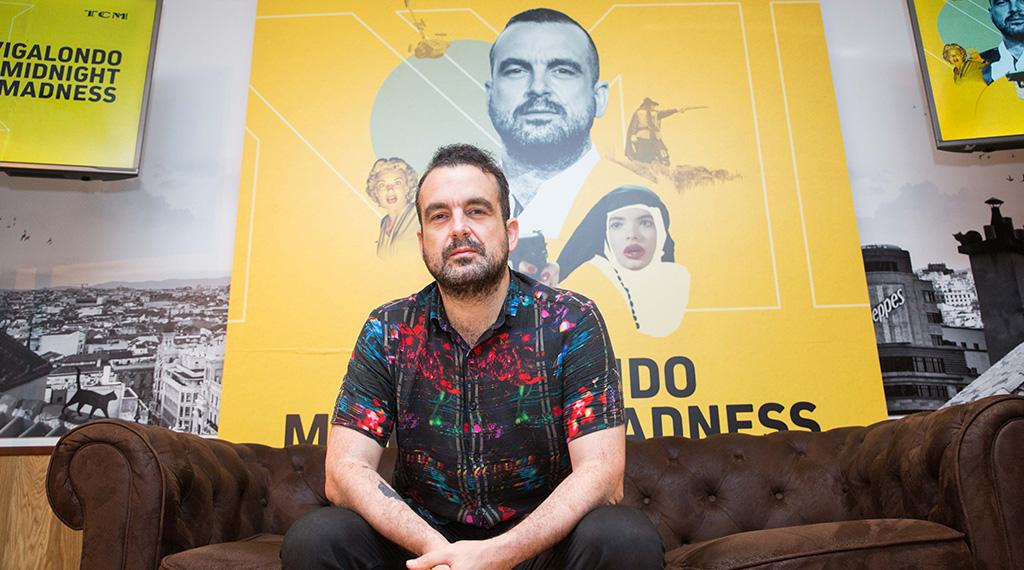 Nacho Vigalondo durante la presentación de la primera temporada del programa