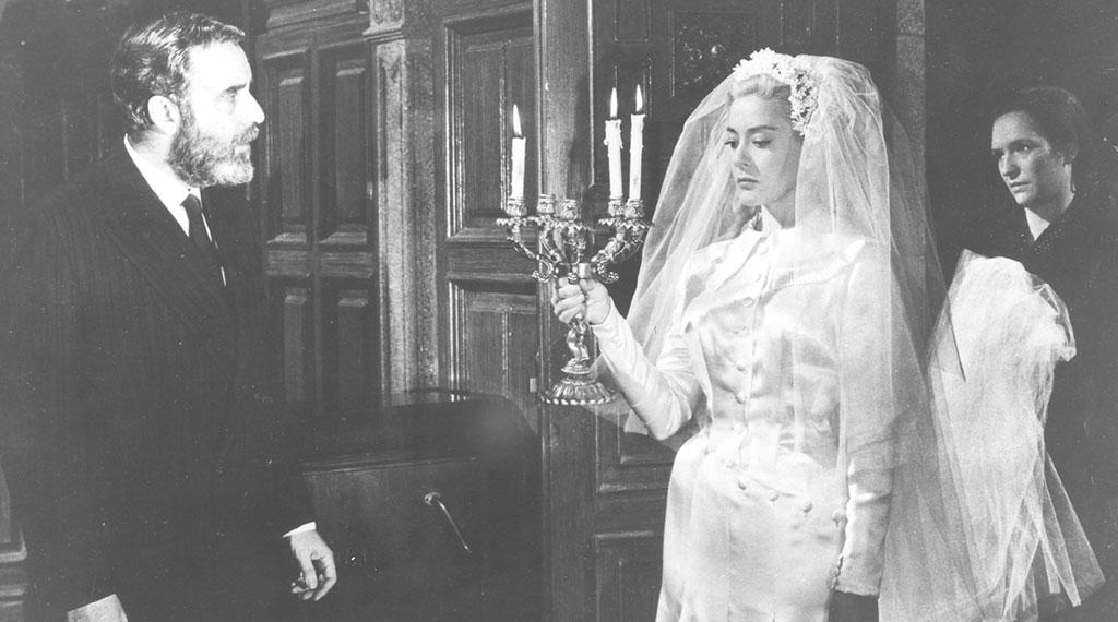 Fernando Rey y Silvia Pinal en 'Viridiana'
